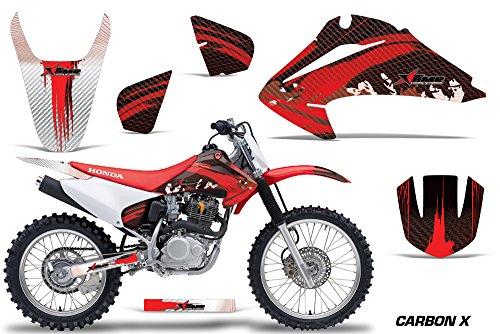 Honda CRF150 CRF230F 2003-2007 MX Dirt Bike Graphic Kit Sticker Decals CRF 125 230 F CARBONX RED