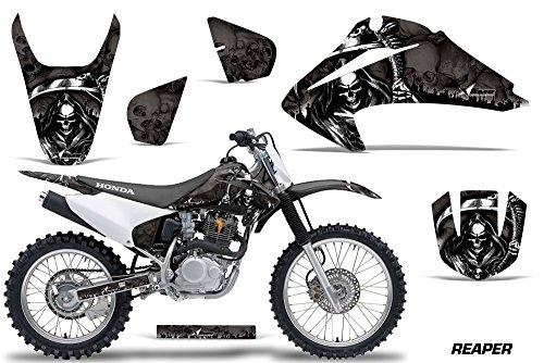 Honda CRF150 CRF230F 2003-2007 MX Dirt Bike Graphic Kit Sticker Decals CRF 125 230 F REPAER BLACK