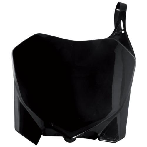 Polisport Number Plate Black for Honda CR CRF 125-450 04-07