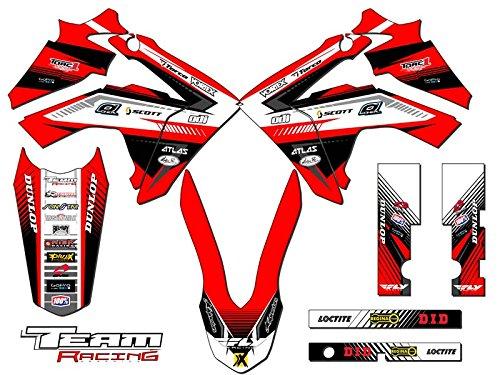 Team Racing Graphics kit for 2013-2017 Honda CRF 125 ANALOG