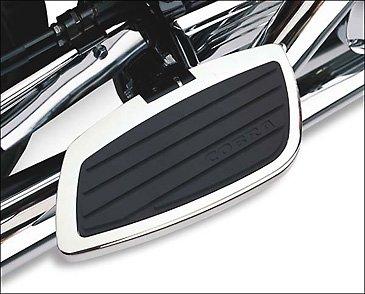 04-09 HONDA VTX1300C Cobra Passenger Floorboards - Swept Chrome CHROME
