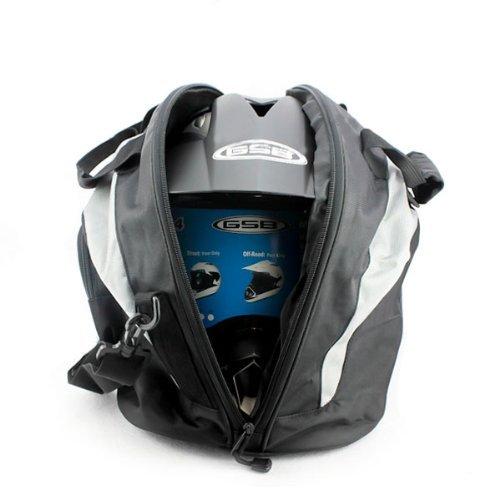 ISSEC Motorcycle Harley Helmet Bag Helmet Bag Portable Knight Backpack