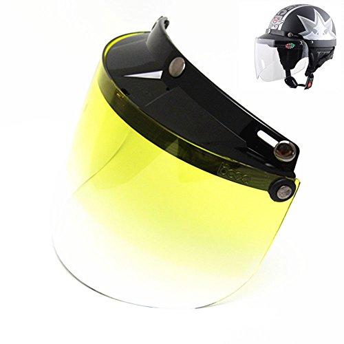 Sedeta Motorcycle Helmet Face Shield Lens Adjustable Goggles 53 Adjustable Goggles 3-Fastener Windproof Lens 3-Fastener Windproof Lens For Harley Helmet