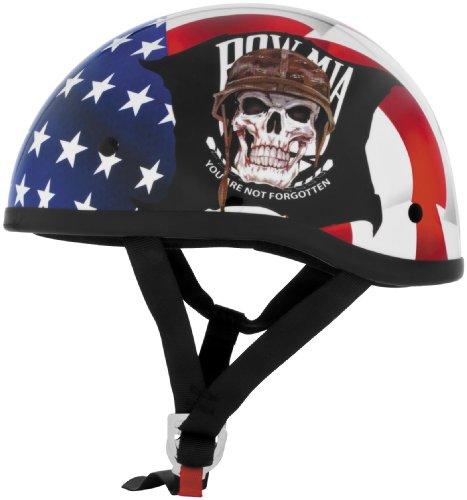Skid Lid POW MIA Original Harley Motorcycle Helmet - Small