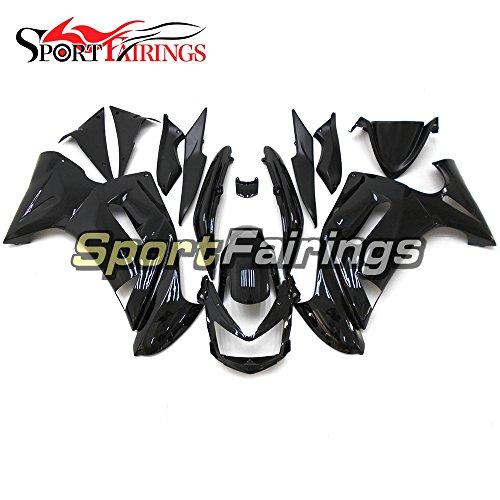 Sportfairings Complete Fairing Kit For Kawasaki Ninja 650R ER-6F ER6F Year 2006 2007 2008 Bodywork Gloss Black Cowling