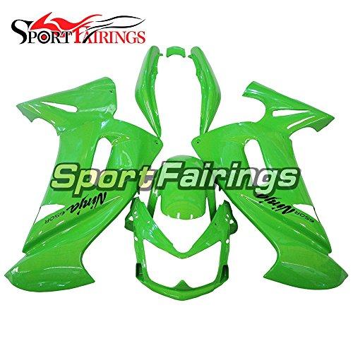 Sportfairings Plastic ABS Green Fairing kits For Kawasaki Ninja 650R ER-6F Year 2006 2007 2008 Full Motorbike Body Frames