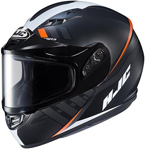 HJC XF-10-1156-1237-08 CS-R3 Space Snow Helmet with Dual Lens Shield Gender MensUnisex Helmet Type Full-face Helmets Helmet Category Snow Distinct Name MC-7SF Primary Color Black Size 2XL
