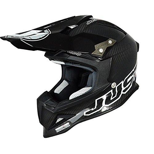 Just 1 J12 Mister X Helmet Gender MensUnisex Helmet Type Offroad Helmets Helmet Category Offroad Distinct Name Carbon Primary Color Black Size Md J1J388BKCBM