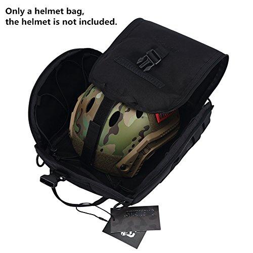 OneTigris Tactical Helmet Bag for Carrying Airsoft Fast Helmet MICH Helmet Helmet Bag - KB03