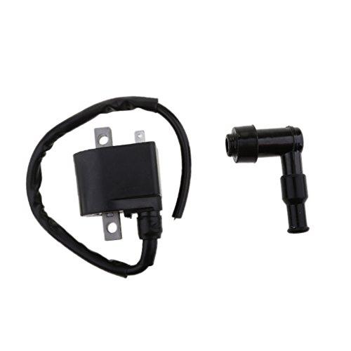 MonkeyJack Black Ignition Coil With CDI Wire Cap For Suzuki ALT50 LT50 MINI ATV