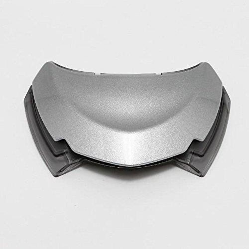Shoei GT-Air Helmet Upper Air Intake - Light Silver 0218-2007-00