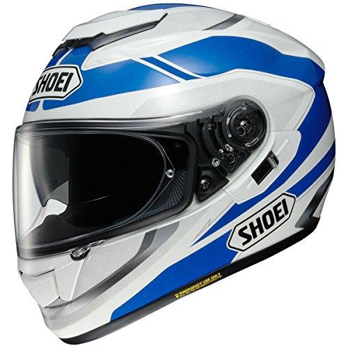 Shoei GT-Air Swayer WhiteBlue Full Face Helmet - Large