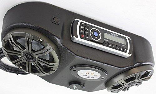 Froghead Industries Kawasaki Mule 610 2 Speaker Stereo Console  MA200  Lght Kicker Marine Spkr