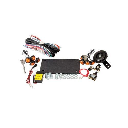 Tusk UTV Horn Signal Kit without Mirrors – Fits Kawasaki MULE 610 4x4 XC 2010–2015