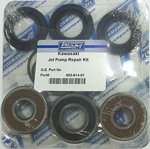 Kawasaki Jet Pump Repair Kit Fits STX-15F Ultra LX Ultra 250X Ultra 260X Ultra 300 WSM 003-614-01
