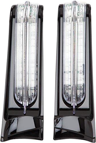 Ciro 40003 LED Saddlebag Accent Lights Gloss Black Led Saddlebag Accent Lights For 2014-2016 Flh Touring Models