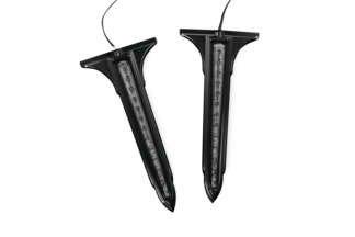 Kuryakyn 7263 BlackSmoke LED Rear Saddlebag Accent