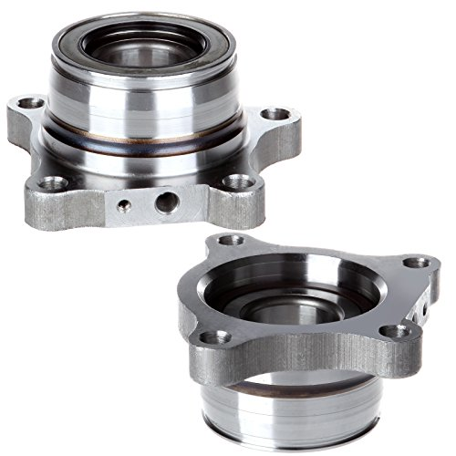 Scitoo Both2 512352 Rear Wheel Hub Bearing Assembly fit 2007 2008 2009 2010 2011 2012 Toyota Tundra 4 Lugs wABS