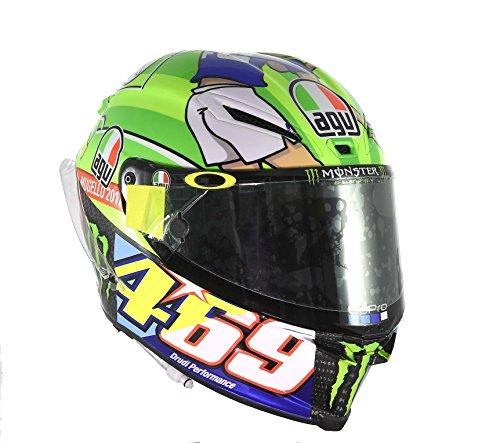 AGV Pista GP R Carbon Valentino Rossi Limited Edition Mugello 2017 469 Kentucky Kid Tribute Motorcycle Helmet - SIZE MEDIUM-SMALL