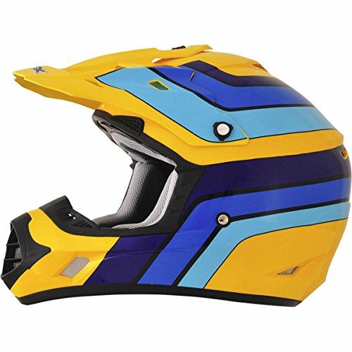 AFX FX-17 Vintage Suzuki Factor Mens Motocross Helmets - X-Small