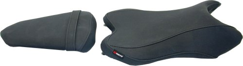 HT Moto Hydro-Turf Motorcycle Seat Cover Replacement Fits Suzuki GSX-R 600 2006-2007 Black