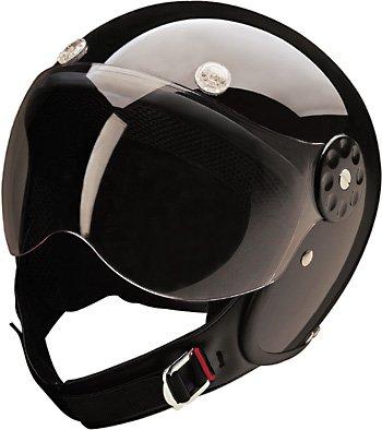 HCI-15 Scooter Helmet Black X-Large