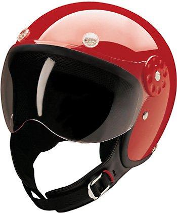 HCI-15 Scooter Helmet Red Medium