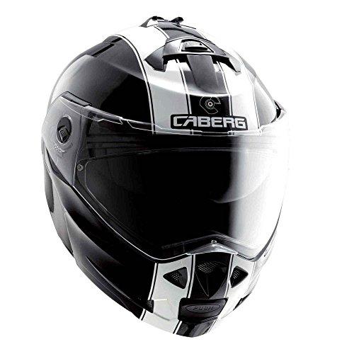Caberg Duke Legend BlackWhite Motorcycle Helmet