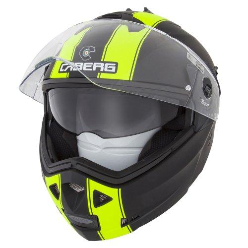 Caberg Duke Legend Matt BlackFluo Dvs Motorcycle Helmet