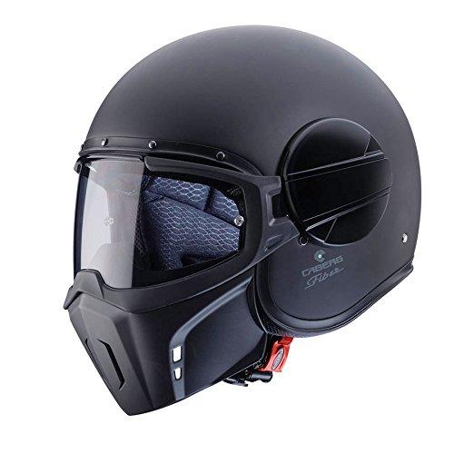 Caberg Ghost Matt Black Motorcycle Helmet