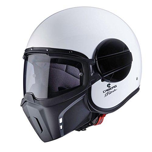 Caberg Ghost White Motorcycle Helmet