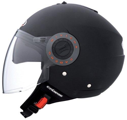 Caberg Riviera V2 Matt Black Motorcycle Helmet