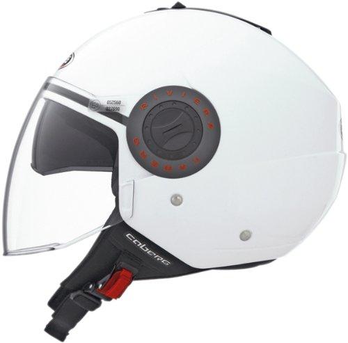 Caberg Riviera V2 White Motorcycle Helmet