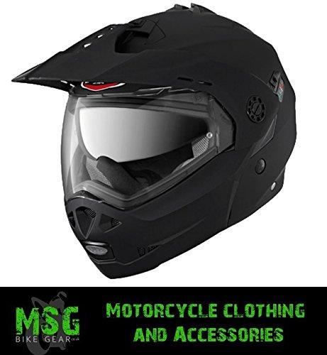 Caberg Tourmax Flip Front Adventure Helmet Matt Black Medium