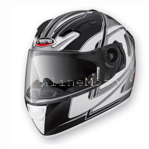 Caberg VOX Speed Matt BlackWhite Motorcycle Helmet