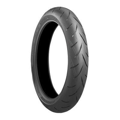 12060ZR-17 55W Bridgestone Battlax S21 Hypersport Front Motorcycle Tire for Hyosung GT650R 2005-2016