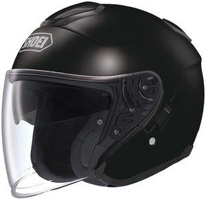 SHOEI J-CRUISE BLACK SIZEMED Motorcycle Open-Face-Helmet