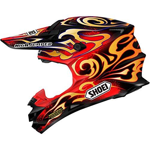 Shoei W Taka VFX-W Off-RoadDirt Bike Motorcycle Helmet - TC-1  Large