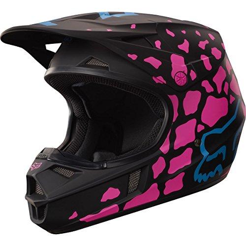 Fox Racing Grav Youth V1 Motocross Motorcycle Helmet - BlackPink  Medium