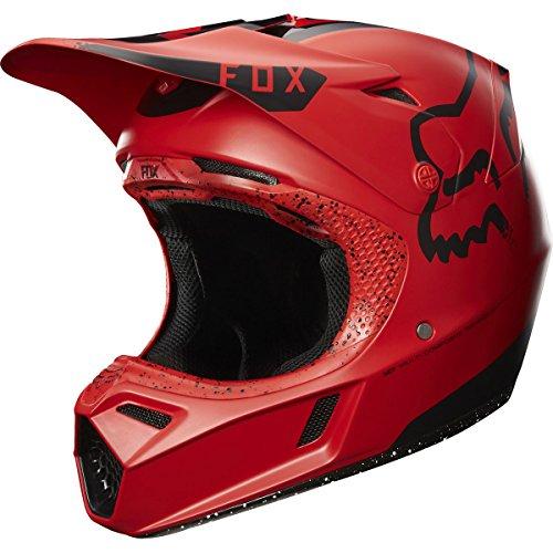 Fox Racing Moth LE Adult V3 Motocross Motorcycle Helmet - RedBlack  Medium