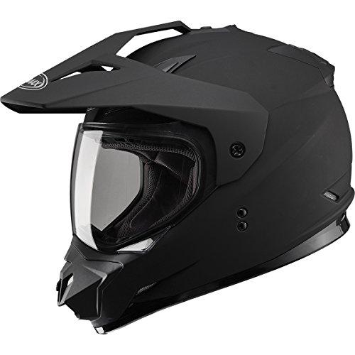 GMAX GM11 DS Solid Mens Motocross Motorcycle Helmet - Flat Black  X-Large