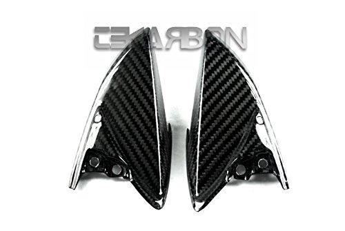 2011 - 2015 Suzuki GSXR 600  750 Carbon Fiber Tail Side Panels - twill