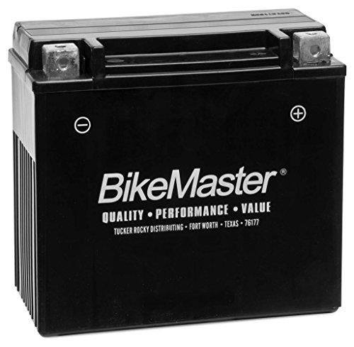 New BikeMaster Maintenance Free Motorcycle Battery - 2000-2009 Buell Blast