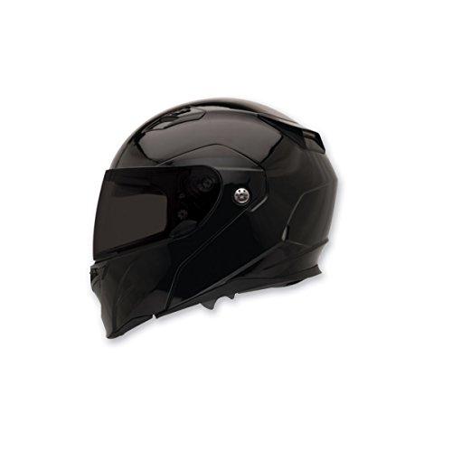 Bell Revolver Evo Unisex-Adult ModularFlip Up Street Helmet Solid Black Large DOT-Certified