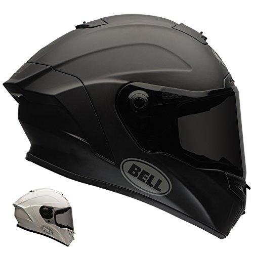 Bell Star Unisex-Adult Full Face Street Helmet Solid Matte Black Large DOT-Certified