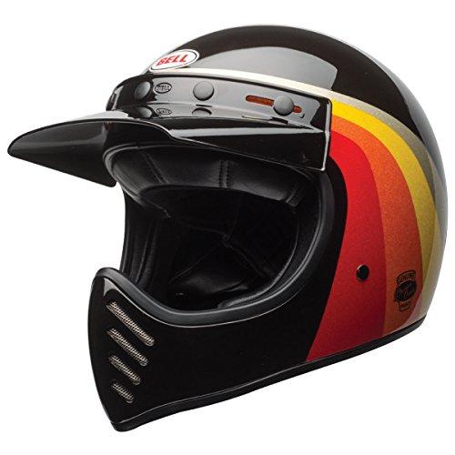 Bell Unisex-Adult Full Face Street Helmet Chem Candy BlackGold X-Large Moto 3 DOT certified