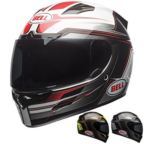 Bell Vortex Unisex-Adult Full Face Street Helmet Marker BlackSilver X-Large DOT-Certified