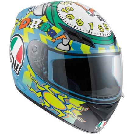 AGV K3 Wake Up Full Face Motorcycle Helmet Multicolor Medium