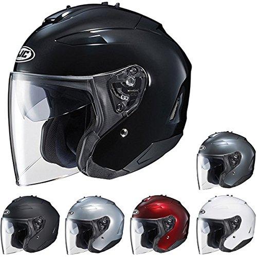 HJC IS-33 II Open-Face Motorcycle Helmet Wine XX-Large