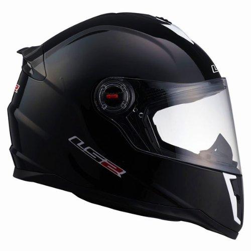 LS2 Helmets FF392 Junior Full Face Motorcycle Helmet Gloss Black Medium